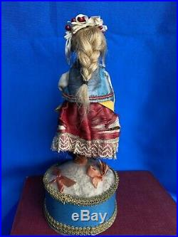 10 Candy Container Bisque. Russian, Polish costume Antique