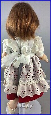 15 Antique German Bisque Head Flirty Eyes Doll K & R 126! Adorable! 18056