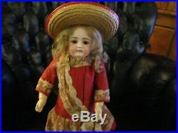 15 Antique Kestner Pouty Doll Marked X, Great Kestner Body