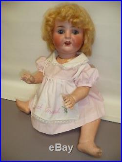 16 Antique German Bisque #169 Porzellanfabrik Burggrub, Sweet Doll