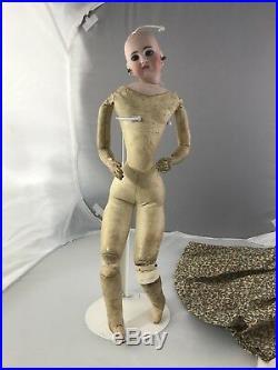 17 Amazing Antique German Bisque Head Belton Fashion Doll 137 French Market