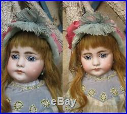 18 rare Simon & Halbig mold 719 circa 1886. Antique german bisque head doll