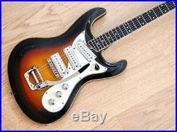 1967 Vox Bulldog Model V241 Vintage Electric Guitar German Carve Eko Italy