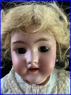 19 Antique Handwerk/halbig German Doll