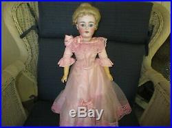 19 Antique Kestner Model #162 Lady Doll Marked Head & Body