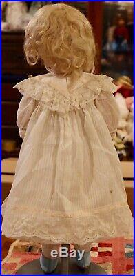 20 Antique German Bisque Character Kammer Reinhardt 101 Marie Doll