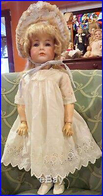 22 Antique C1890 Kammer Reinhardt Mein Liebling 117/A Closed Mouth Doll REDUCED