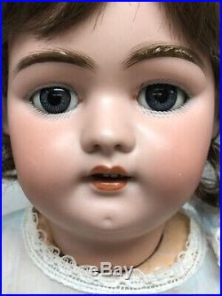 22 Antique German Simon & Halbig Bisque 1079 DEP B/m Sleep Eyes Adorable #SC2
