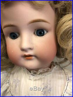 23 Antique German Bisque Cuneo Otto & Dressel 1912 Ball Jointed Blonde #SF