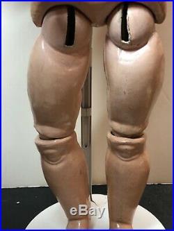 23 Antique German Bisque Doll Heinrich Handwerck S & H 3 Brown Sleep Eyes