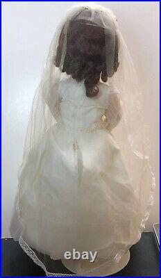 23 Antique Germany Bisque Doll Heubach Kopplesdorf 250 Brunette Bride Wedding