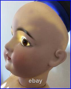 23 Antique J. D. Kestner #146 German Bisque Doll With Stamped Original Body
