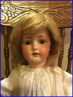 23 Heubach Koppelsdorf 250 #5 Bisque Head Sleepy Eyes Doll With Marked Body