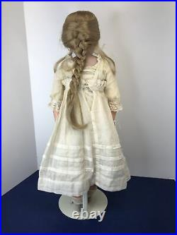 24 Antique German Simon & Halbig 1080 Original Clothing Leather & Compo Body #L