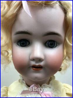25 Antique German Bisque Doll Heinrich Handwerck Simon Halbig Blonde #SC1