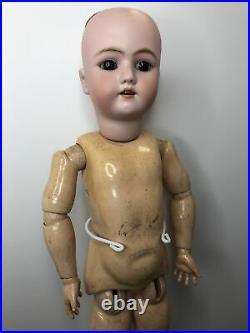 25 Antique German Simon & Halbig Heinrich Handwerck Bisque Doll Compo BJD #L
