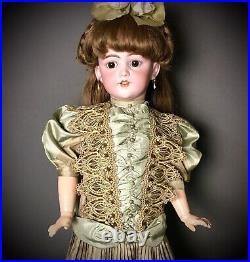 25 Simon & Halbig 1249 Santa Character Child Doll Antique Bisque-Head German