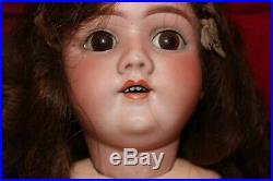 27.5 Antique German DEP Handwerck Beautiful open mouth Doll, head stamp 5 1/2
