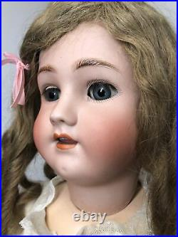 28 Antique German Simon & Halbig Heinrich Handwerck 5 1/2 Sweet Bisque Doll #L