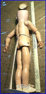 28 walking Kammer and Rheinhardt KR Simon and Halbig Antique doll