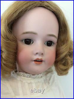 29 Antique HANDWERCK DEP 109 German Bisque Doll Great Body