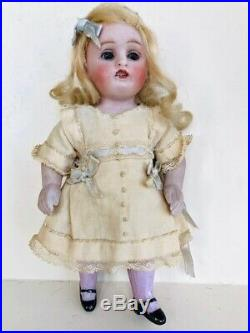 2pc Dress set 6 1/2 Antique All Bisque Kestner Doll