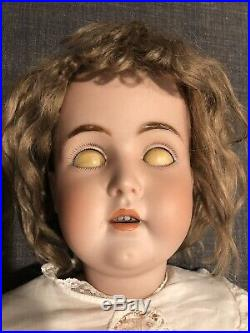30 KESTNER German Antique Bisque head Doll, Mold 171, M Series