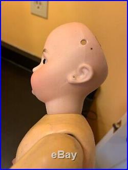 769 Simon And Halbig Dep 16.5 Bisque Head Doll