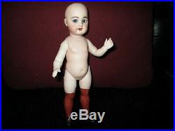 8 1/4 Antique Simon & Halbig All Bisque Doll AS IS