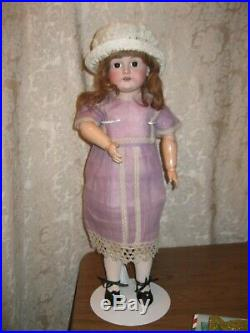 ANTIQUE KESTNER 167 BISQUE HEAD DOLL With COMPO BJB AS IS DAMAGE