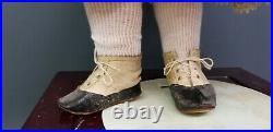 ANTIQUE KESTNER 167 GERMAN BISQUE COMPOSITION DOLL 23 antique clothes kid shoes