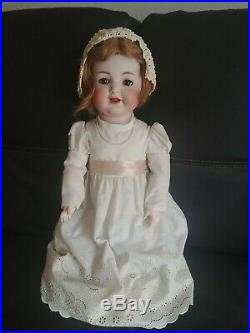 ANTIQUE KR SIMON HALBIG 20 126 BISQUE CHARACTER BABY DOLL WOBBLE TONGUE beauty