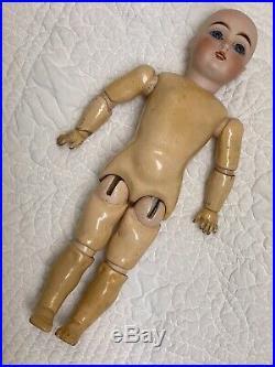 Adorable Rare Cabinet Size 11 3/4 152 Kestner Antique German Bisque Doll