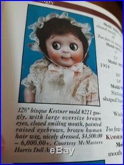 Adorable Unique Googly Eyes Kestner #221 all Orig. Complete, Ecxellent cond. 12