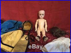 All Original 11 Antique Simon Halbig Doll In Perfect Condition