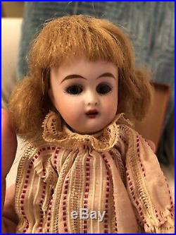 All Original French Market Simon Halbig KR 7.5 Jointed Bisque Antique Doll