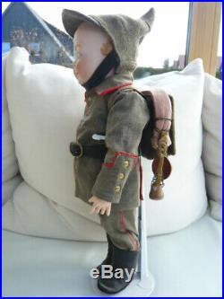 AntiqueHertel, Schwab & Co. DollGooglyGooglie # 172
