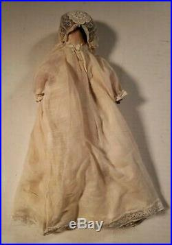 Antique 10 SIMON HALBIG German Jointed All-Composition Doll- Sleep Eyes / Teeth