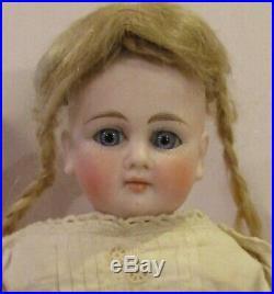 Antique 12.5 C1890 German Bisque Kestner Turned Shoulderhead Fashion Doll Mkd 3