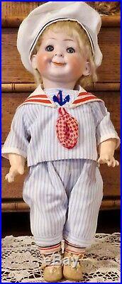 Antique 14 German Bisque Hertel Schwab 173 Jubilee Googlie Doll MAKE OFFER