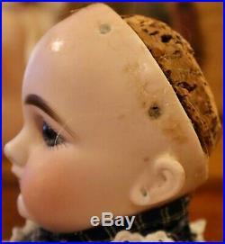 Antique 15 German Bisque RARE Simon Halbig Closed Mouth 749 Doll