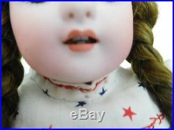 Antique 15 Simon & Halbig 908 Bisque Child with Square Teeth, Straight Wrists