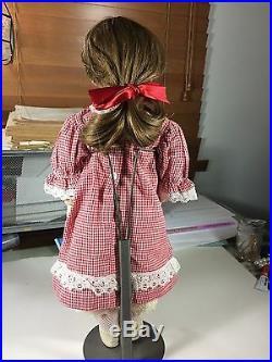 Antique 17 German Bisque Head French Market Doll 109