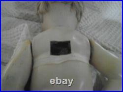 Antique 18 1/2 Simon Halbig 126 Flirty Eye Dressed Boy Baby Doll