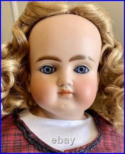 Antique 21 German Bisque Closed Mouth Alt Beck Gottschalk 639 Doll