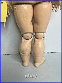 Antique 26 Simon & Halbig K Star R Doll Bisque Head Ball Jointed Body