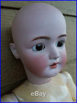 Antique 30 GERMAN SIMON HALBIG #1078 Bisque Head/Compo Doll LIFESIZED GIRL