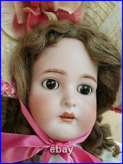 Antique 31 K R Kammer Reinhardt German Bisque Head PRETTY CHILD SIZE DOLL