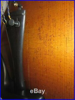 Antique 4/4 German Violin Guarnerius Copy One-Piece Back Old Vintage Fiddle
