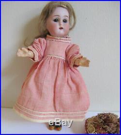 Antique 7 Bisque Head Doll Kammer Reinhardt Simon Halbig Mignonette C1895